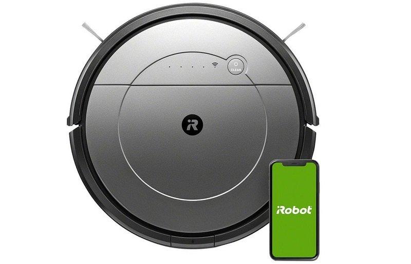 Robotický vysávač s mobilom