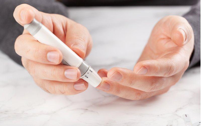 Odberové pero na meranie glukózy