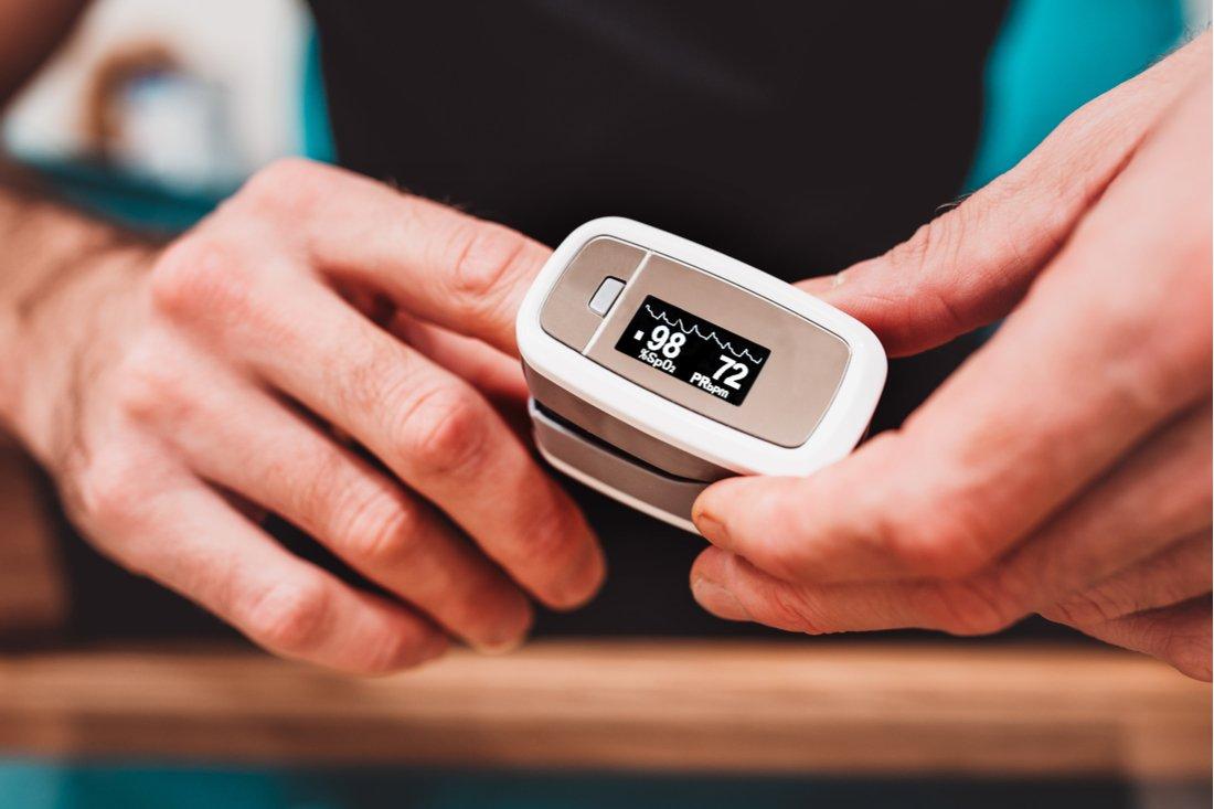 Oxymeter na prste