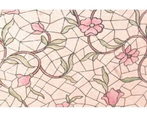 Patifix Fólie na sklo 11-2240 KVET – šírka 45 cm
