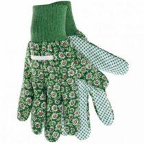 Rukavice záhradné bavlna/PVC dámske