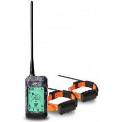 Satelitný GPS lokátor Dogtrace DOG GPS X22 sada pre dva psy