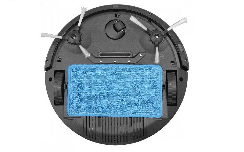 Robotický vysávač s mopovacou textíliou