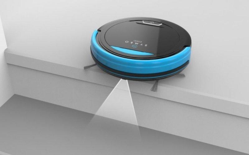 Senzory robotického vysávača Symbo D300B