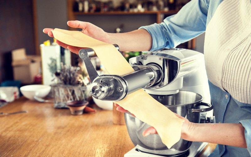 Výroba cestovín na kuchynskom robotovi