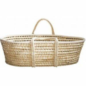 Ahojbaby Mojžišov košík pre bábätko Corn Natural + matrac