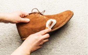 Čistenie semišovej obuvi