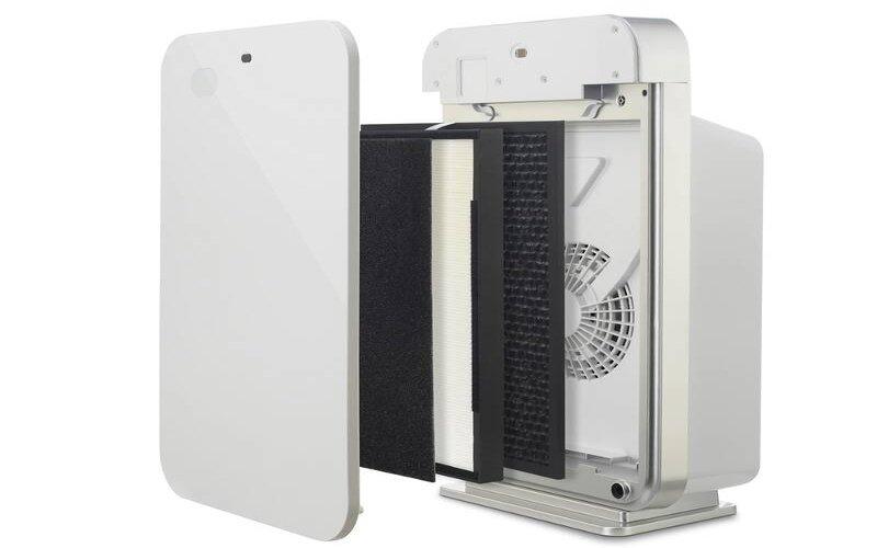 Jednotlivé filtre čističky vzduchu
