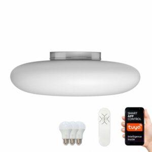 Immax NEO 07061L-LED RGB Stmievateľné stropné svietidlo FUENTE 3xLED/8,5W/100-240V Tuya
