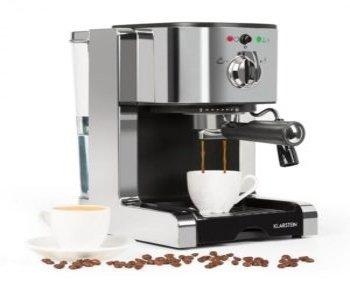 Pákový kávovar , dve šálky
