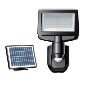 LED Solárny senzorový reflektor TOMI LED/10W/7,4V IP44