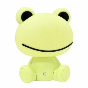 LED Stmievateľná detská nočná lampička LED/2,5W žaba zelená