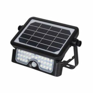 LED Vonkajší reflektor so senzorom LED/5W/3,7V IP65