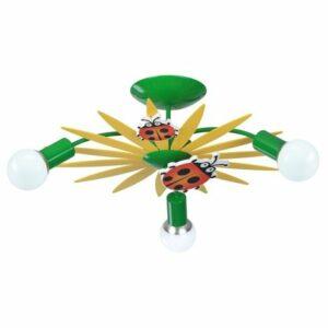 Luxera 28033 – detské stropné svietidlo QUETT 3xE27/40W/230V