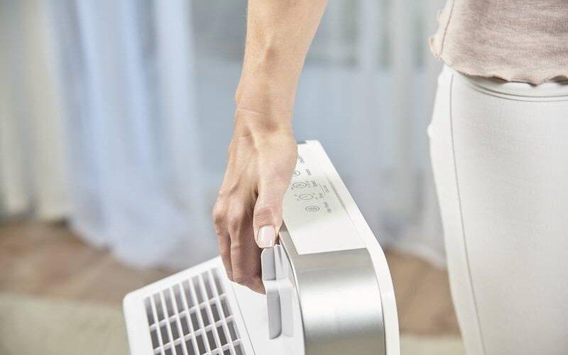 Prenášanie čističky vzduchu
