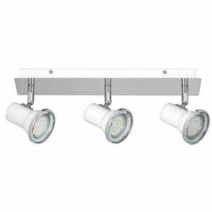 Rabalux – LED Kúpeľňové bodové svietidlo 3xGU10/4,5W/230V