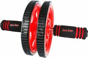Sharp Shape AB Wheel red – Posilňovacie koliesko   Alza.sk