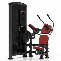 Stroj na posilňovanie brucha Marbo Sport MP-U223 – červená