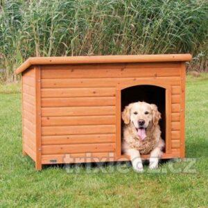 Trixie Búda drevená, rovná strecha
