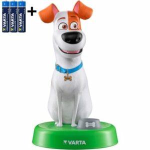 Varta 15641 – LED Detská lampa THE SECRET LIFE OF PETS LED/3xAAA