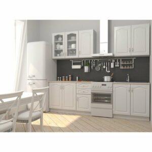 Kuchynská zostava NIKA, 200 cm, biela