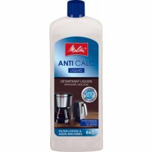MELITTA ANTI CALC tekutý odvápňovač pre kávovary a rýchlovarné kanvice 250 ml