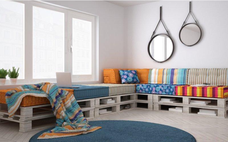 Obývačkové posedenie z paliet