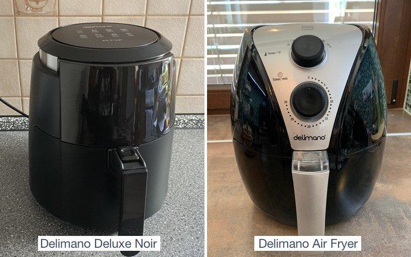Dve teplovzdušné fritézy Delimano
