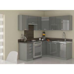 Rohová kuchynská linka Grey 190×170
