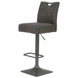 Barová stolička DENISE H, vintage antracit