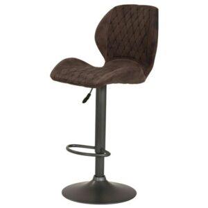 Barová stolička SONJA H, vintage hnedá