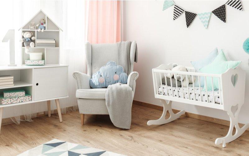 Detská izba s kolískou