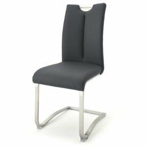 Jedálenská stolička ADALYN 1, čierna