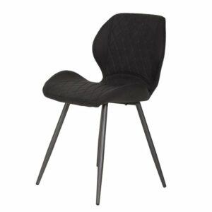 Jedálenská stolička AURORA S, vintage antracit
