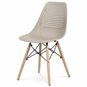 Jedálenská stolička ELODY, cappuccino