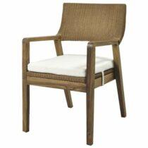 Jedálenská stolička GEMA, hnedá