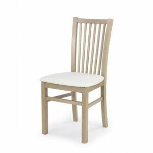 Jedálenská stolička Jacek – dub sonoma / biela