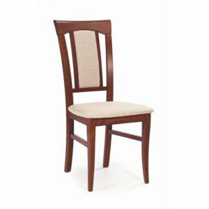 Jedálenská stolička Konrad – čerešňa antická / svetlohnedá