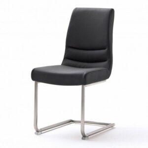 Jedálenská stolička SADIE 3, čierna/antikoro