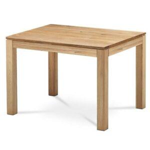 Jedálenský stôl KINGSTON, dub, šírka 120 cm