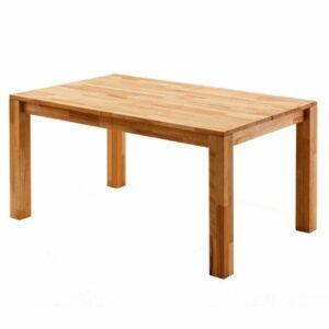 Jedálenský stôl PAUL, dub divoký, 200 cm, rozkladací