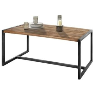 Jedálenský stôl SPRING, akácia/kov