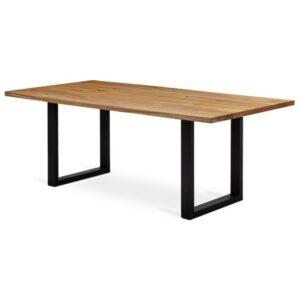 Jedálenský stôl VANCOUVER , dub/čierna