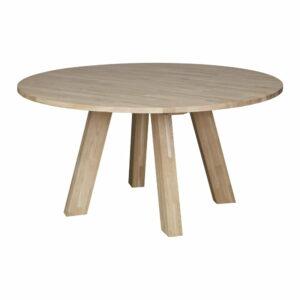 Jedálenský stôl z dubového dreva WOOOD Rhonda, ø 150 cm