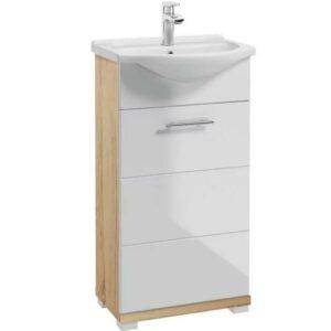 Kúpeľňová skrinka Bari D45 1D0S L1529 dub sonoma