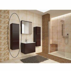 Kúpeľňová skrinka na stenu Mason WE 11 – wenge