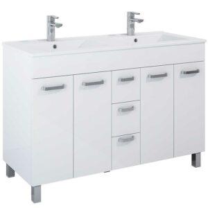 Kúpeľňový set Uno Kyra 120 4D3S white