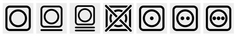 Symboly sušenia