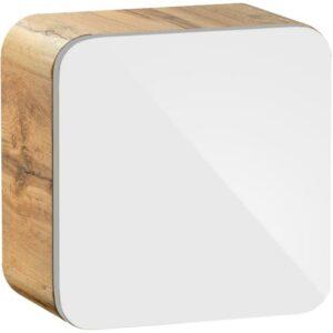Závesná kúpeľňová skrinka Cube Aruba