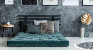 Rozložený futon